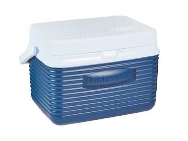 Nevera Plástica Portátil 4.7 Litros (5Qt) Azul Rubbermaid 2A09BLUE