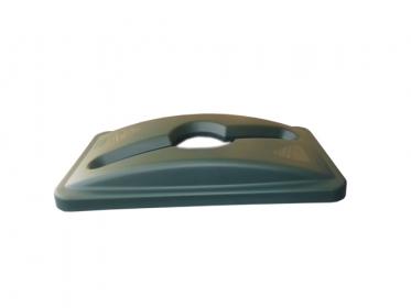 Tapa Perforada para Contenedor Slim Jim® 87 litros Verde Rubbermaid 1788373