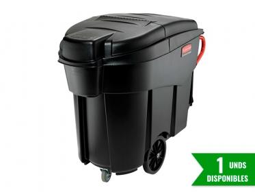 Rubbermaid FG9W7300BLA  MegaBrute® Colector de Residuos 454 Litros Con Tapa Negro