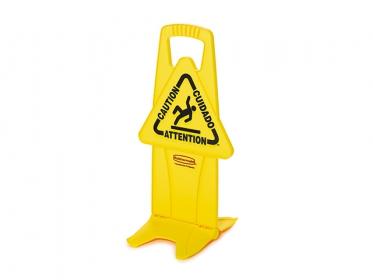 Señal de Prevención Piso Mojado 66 cm Amarilla Rubbermaid FG9S0900YEL