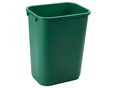 Papelera de Basura Rubbermaid Verde (39 litros) 1829406