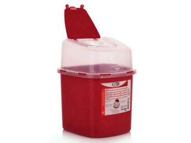 Recipiente Residuos Cortopunzantes 2.8 L Estra  4-1008524