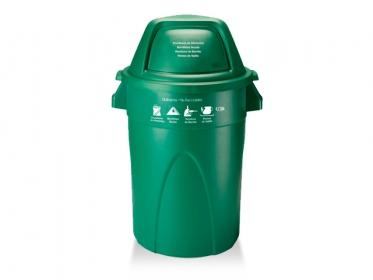 Contenedor Élite 121 Litros (Ordinarios - No Reciclables) Verde Estra 4-1008365