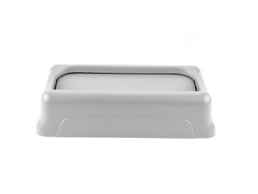 Tapa Oscilante para Contenedor Slim Jim® 87 litros Gris Rubbermaid FG267360GRAY