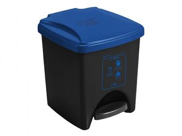 Papelera Pedal ECO 20 Litros Azul 4-1034581