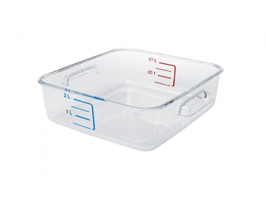 Recipiente Policarbonato 1.9 Litros Rubbermaid FG630200CLR