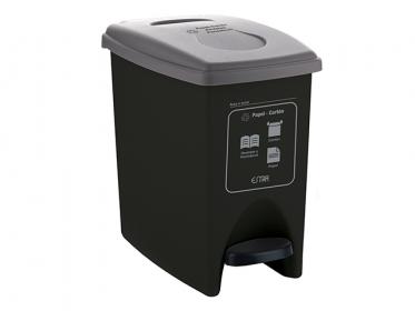 Papelera Pedal ECO 10 Litros Color Gris 4-1034574