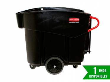 MegaBrute Colector de Residuos 454 Litros Rubbermaid FG9W7300BLA Negro