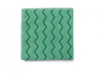 Paño de Microfibra Verde HYGEN™ Rubbermaid FGQ62000GR00