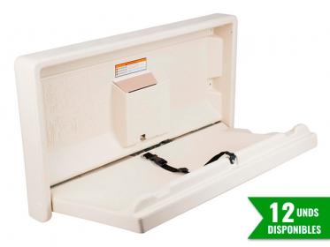 Gamco BCS-1 Cambiador de Pañales de Pared para Baño Público Beige