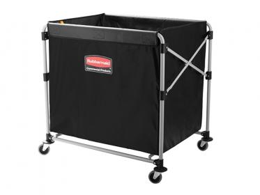 Carro Para Lavandería Industrial Plegable X-Cart Negro 110 Kg ( 290 litros) 1881750