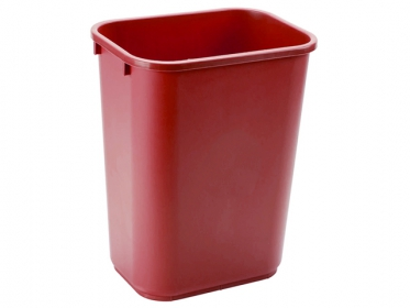 Papelera de Basura Rubbermaid Rojo (39 litros) FG295700RED