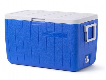 Nevera Plástica Portátil 45.4 Litros 48 Qt Azul Coleman 3000000152