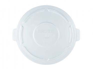 Rubbermaid FG261960WHT Tapa Plana Contenedor Brute® 76 Litros Blanco