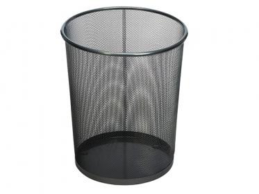 Papelera Metálica Malla Negro Rubbermaid (20 litros) FGWMB20BK
