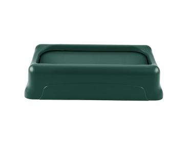 Tapa Oscilante para Contenedor Slim Jim® 87 litros Verde Rubbermaid 1829400