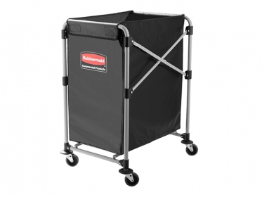 Carro Para Lavandería Industrial Plegable X-Cart Negro 100 Kg (140 Litros) 1881749