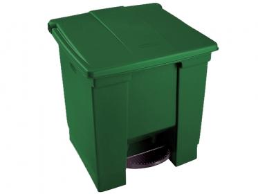 Papelera de Pedal 30 litros Verde Rubbermaid 1829413