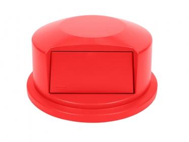 Tapa Domo Contenedor Brute® 121 litros Rubbermaid Rojo FG263788RED