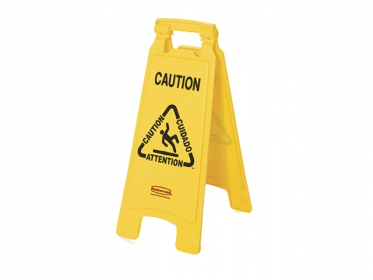 Señal de Prevención Piso Mojado 63 cm Amarillo Rubbermaid FG611200YEL