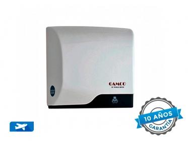 Gamco B-5120 Secador de Manos Automático de Alta Velocidad Slim by World Dryer Blanco