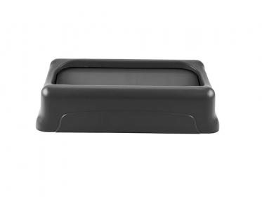 Tapa Oscilante para Contenedor Slim Jim® 87 litros Negro Rubbermaid FG267360BLA