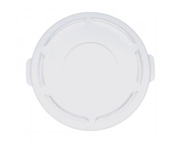 Tapa Plana Contenedor Brute® 121 litros Rubbermaid Blanco FG263100WTH