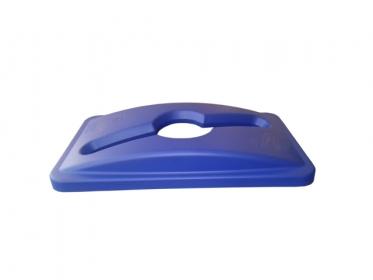 Tapa Perforada para Contenedor Slim Jim® 87 litros Azul Rubbermaid 1788372