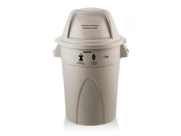 Contenedor Élite 121 Litros (Orgánicos - No reciclables) Beige Estra 4-1008368