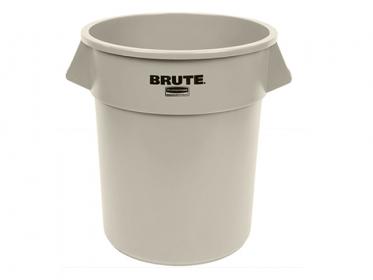 Caneca de Reciclaje Beige 121 litros Brute® Rubbermaid FG263200BEIGE