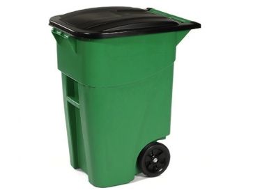 Contenedores de Basura con Ruedas 189 litros Verde Brute® Rubbermaid 1829411