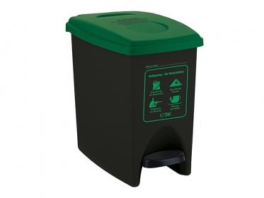 Papelera Pedal ECO 10 Litros Color Verde 4-1034576