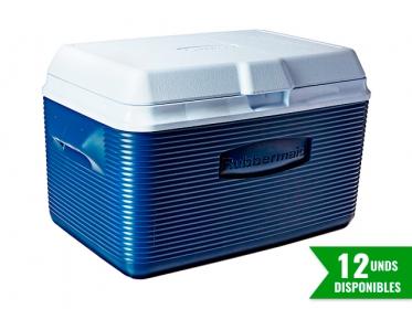 Nevera Plástica Portátil 32 Litros (34Qt) Azul Rubbermaid 2A20BLUE