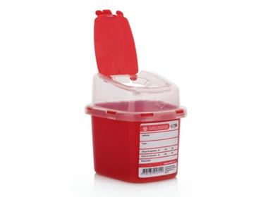 Recipiente Residuos Cortopunzantes 0.5 L Estra 4-1028348