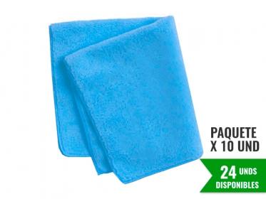 Paño de Microfibra Azul HYGEN™ Económica 40x40 Cm Rubbermaid 1987531