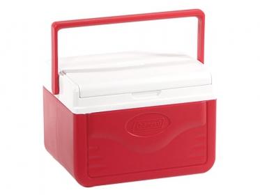 Nevera Plastica Portatil 4.7 Litros 5 Qt Rojo Coleman 5205A753G