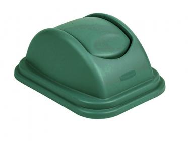 Tapa Vaivén para Papelera (39 litros) Rubbermaid Verde 1829408