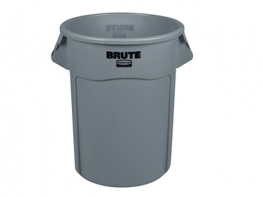 Contenedor Brute® Rubbermaid 208 Litros FG265500GRAY Gris