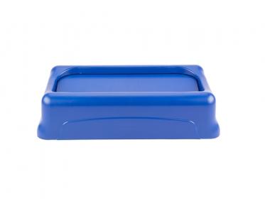 Tapa Oscilante para Contenedor Slim Jim® 87 litros Azul Rubbermaid FG267360BLUE