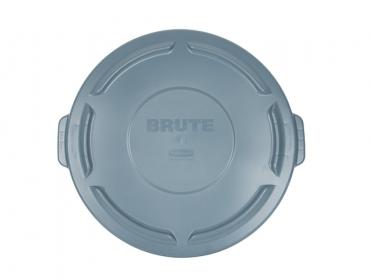 Tapa Plana Contenedor Brute® 121 litros Rubbermaid Gris FG263100GRAY
