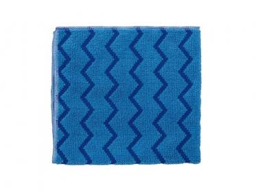 Paño de Microfibra Azul HYGEN™ Rubbermaid FGQ62000BL00