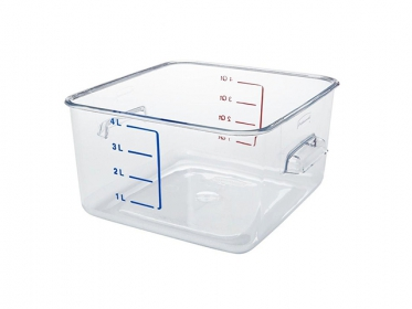 Recipiente Policarbonato 3.8 Litros Rubbermaid FG630400CLR