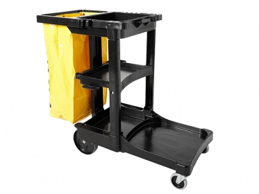Carro de Limpieza con Bolsa Amarilla Rubbermaid FG617388BLA