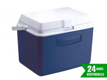 Nevera Plástica Portátil 22 Litros (24Qt) Azul Rubbermaid 2A13BLUE