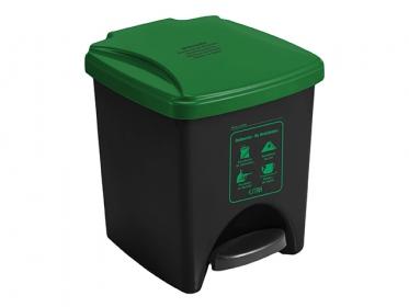 Papelera Pedal ECO 20 Litros Verde 4-1034579